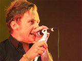 Danny Jones of McFly performing with the band at the In: Demand live concert in Glasgow, Scotland