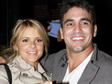 The Bachelorette star Ali Fedotowsky with Roberto Martinez