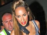 Leona Lewis outisde Whiskey Mist