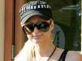 Paris Hilton spotted out shopping