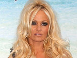Pamela Anderson attending Comedy Central's 'Roast' of David Hasselhoff in Culver City, California
