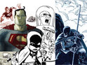 DC Comics releases a collage of images from different artists as a teaser for a new project.