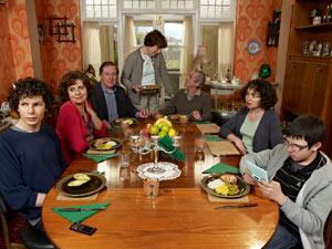 The cast of Grandma's House