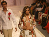 Grand Finale of designer Manish Malhotra - India Fashion Week 2007