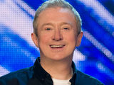 Louis Walsh judging on The X Factor