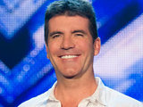 Simon Cowell judging on The X Factor