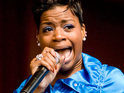 An unknown caller tells 911 dispatchers that Fantasia Barrino is nearly unconscious in a newly released tape.