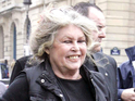 French actress Brigitte Bardot says that she will block any attempts to make a film about her life.