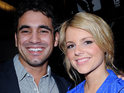 Ali Fedotowsky says that she enjoyed spending her whole birthday with Roberto Martinez.