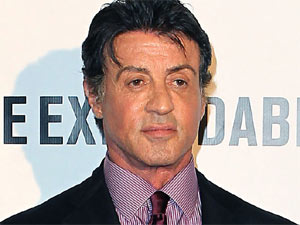 Sylvester Stallone attending a special screening of &#39;The Expendables&#39; held at Las Vegas Planet Hollywood Resort