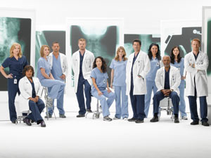 Grey's Anatomy season 6 cast