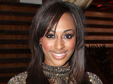 Alexandra Burke tries a pint of Guinness