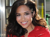 Myleene Klass is unveiled as the new face of Marks & Spencer TV at their Marble Arch store in London