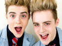Jedward compare themselves to Barack Obama and claim that this year's contestants copy their style.
