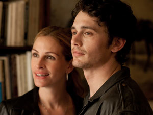 Julia Roberts and James Franco in 'Eat Pray Love'