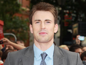 Chris Evans at the Scott Pilgrim Preimere
