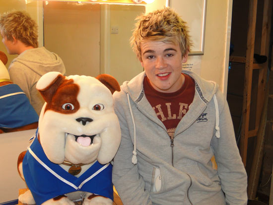 Churchill the Dog and Eoghan Quigg