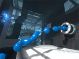 Repulsion Gel in Portal 2