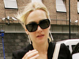 Kate Winslet leaving her London hotel