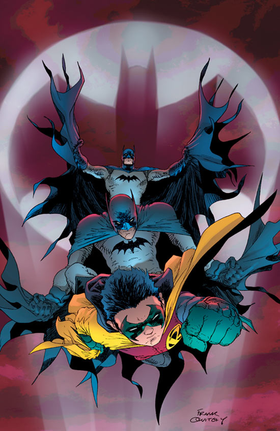The two Batmans and Robin