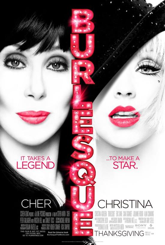 'Burlesque' poster