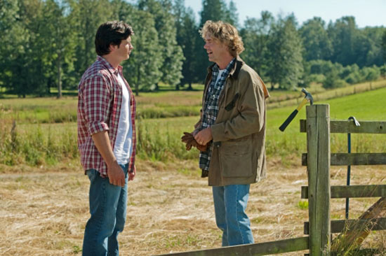 Clark and Jonathan Kent from Smallville