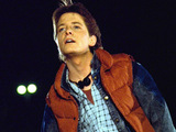 Michael J. Fox as Marty McFly in 'Back To The Future'