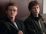 Justin Timberlake and Jesse Eisenberg in 'The Social Network'
