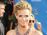 Heidi Klum at the 62nd Primetime Emmy Awards