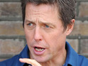 Hugh Grant was reportedly taken to hospital after complaining of feeling faint.