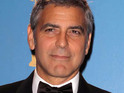 George Clooney receives the Bob Hope Humanitarian Award at this year's Primetime Emmy Awards.