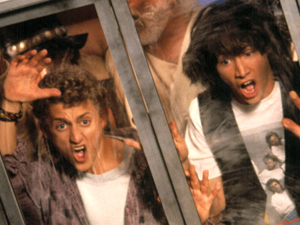 Alex Winter and Keanu Reeves in &#39;Bill & Ted&#39;s Excellent Adventure&#39;