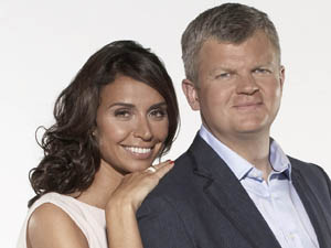 Christine Bleakley and Adrian Chiles from Daybreak on ITV1.