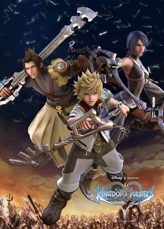 Kingdom Hearts: Birth By Sleep Competition