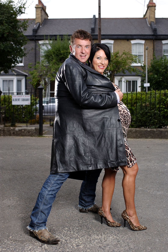 Kat and Alfie from EastEnders