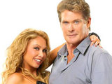 David Hasselhoff and Kym Johnson on Dancing With The Stars