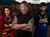 Phil Harris, Jake Harris and Josh Harris on The Deadliest Catch