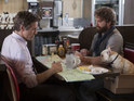 The Hangover's Zach Galifianakis drives Robert Downey Jr around the bend (easily done).