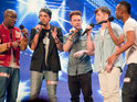 X Factor boyband hopeful Matthew Newton reveals that he was living on the streets aged 17.