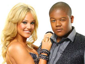 Kyle Massey and Lacey Schwimmer on Dancing With The Stars