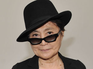 Yoko Ono launchers her exhibtion 'Das Gift' in Berlin