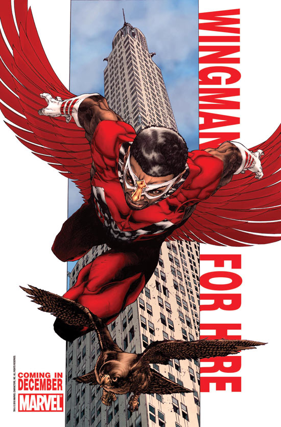 Falcon Wingman For Hire