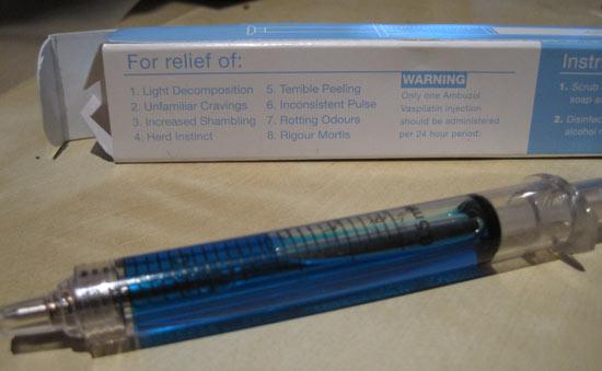 Zombrex pen syringe