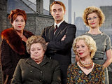 The cast of The Road to Coronation Street