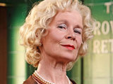 Celia Imrie as Dorris Speed in The Road to Coronation Street