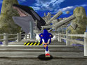 Sonic's debut Dreamcast adventure can't quite keep up with contemporary classics.