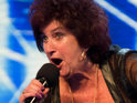 "69-year-old singer Hazel Jackson has a ""twinkle in her eye"" for Louis Walsh on this week's X Factor."