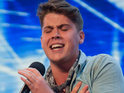 Blackpool's Aiden Grimshaw impresses at this week's X Factor auditions.