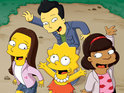 Click in to see what the cast of Glee look like with a Simpsons makeover.