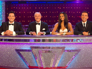 Strictly Come Dancing judging panel